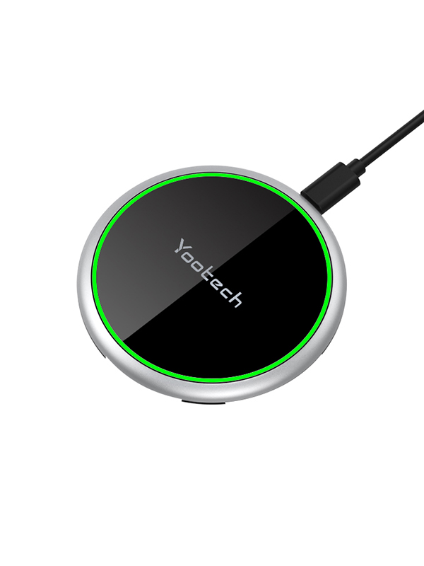 Yootech Wireless Charger 10W QI Fast Charging Pad Mat with Anti-Slip Rubber