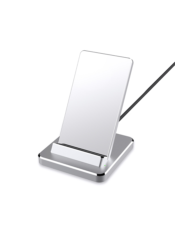 Yootech Qi Power Aluminium Wireless Charging Stand with Mirrow
